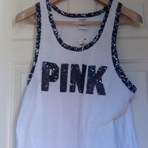 NWT Victoria's Secret Pink Bling Size Small